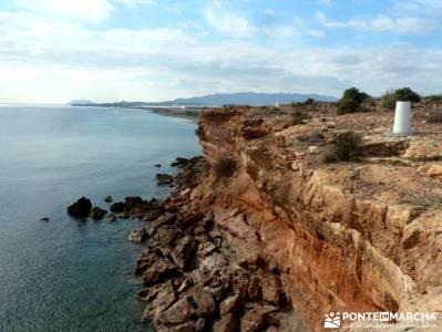 Calblanque y Calnegre - Cabo Tiñoso; viajes puente constitucion; viajes rutas;el senderista